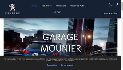 Site internet de Garage Mounier