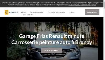Site internet de Vert Galant Automobiles