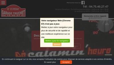 Site internet de Garage Truchet