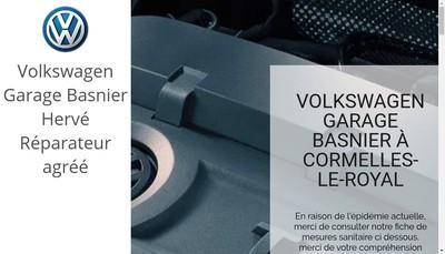 Site internet de Garage Basnier