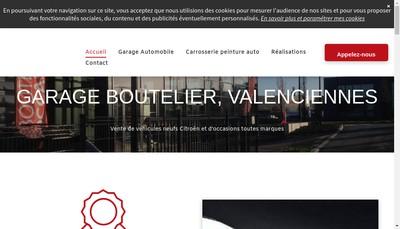 Site internet de Garage Boutelier