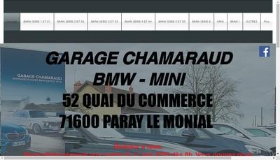 Site internet de SARL Chamaraud