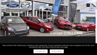 Site internet de SARL d'Exploitation Carrosserie Collomb
