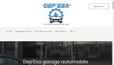 Site internet de Dep'Esa