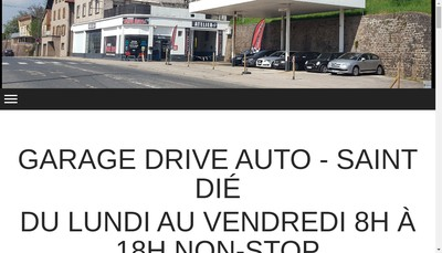 Site internet de Garage Drive Auto