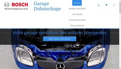 Site internet de Garage Dubouchage Sp