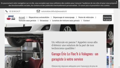 Site internet de Microcar - Garage de la Gare