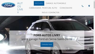 Site internet de Ford