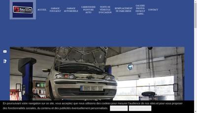 Site internet de Garage Foucault