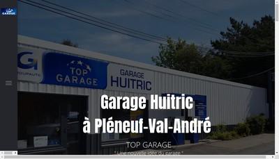 Site internet de Garage Huitric