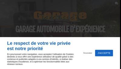 Site internet de Garage Jaroussat