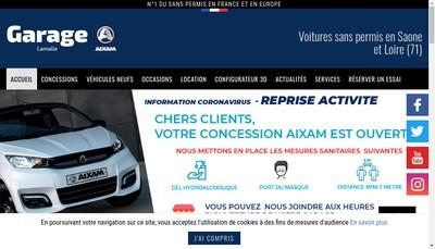 Site internet de Xavier Lamalle