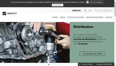 Site internet de Lgd Auto