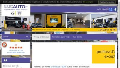 Site internet de Lucauto