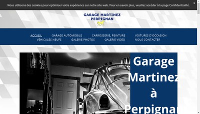 Site internet de Garage Martinez