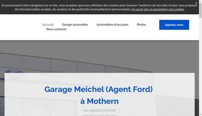 Site internet de Garage Meichel