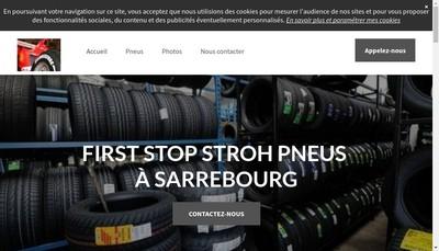 Site internet de Stroh Pneus