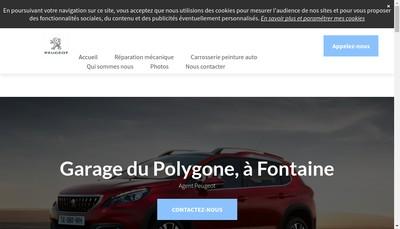 Site internet de Garage du Polygone