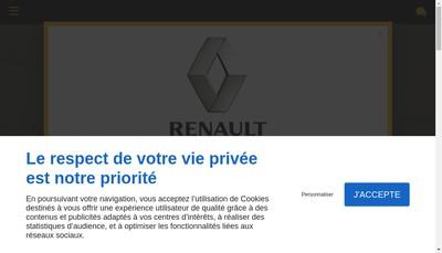 Site internet de Agent Renault Carriere Jean-Philippe