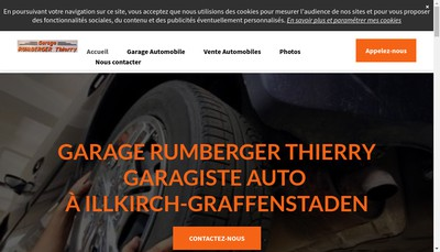 Site internet de Garage Rumberger Thierry