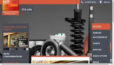 Site internet de Sta Lille
