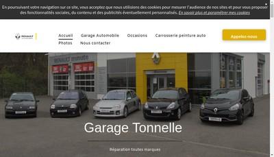 Site internet de Garage Tonnelle SARL