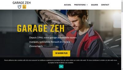 Site internet de Garage Zeh