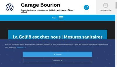 Site internet de Garage Bourion
