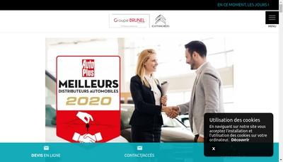 Site internet de Garage Brunel