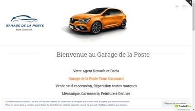 Site internet de Le Garage de la Poste