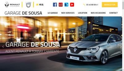 Site internet de De Sousa Freres