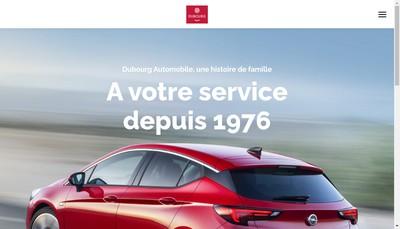 Site internet de AA Dubourg