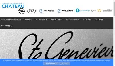 Site internet de Garage du Chateau