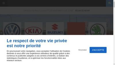 Site internet de Mecanique Conseil Vente Automobile Mcva