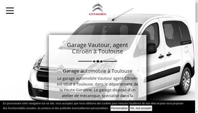 Site internet de Garage Vautour