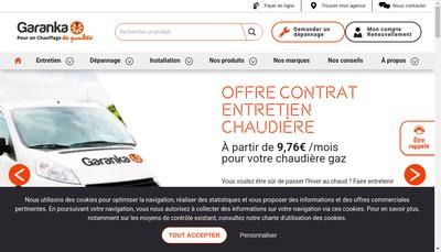 Site internet de Garanka Sud Ouest