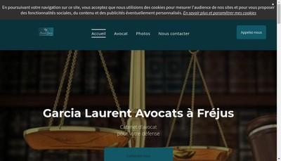 Site internet de Laurent Garcia