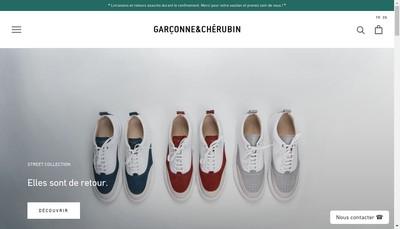Site internet de Garconne & Cherubin