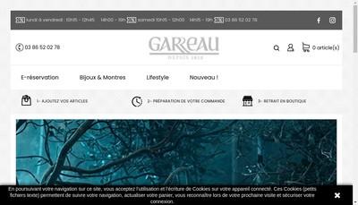 Site internet de Garreau