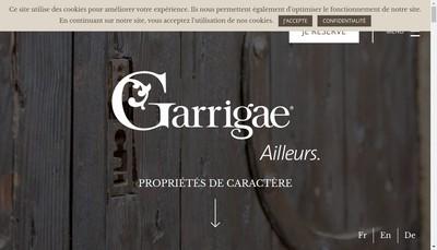 Site internet de EURL la Distillerie
