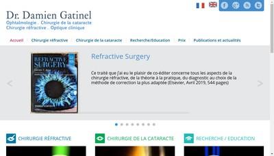 Site internet de Dr Damien Gatinel