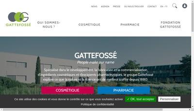 Site internet de Gattefosse France