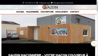 Site internet de Entreprise Gaudin