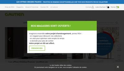 Site internet de Gautier