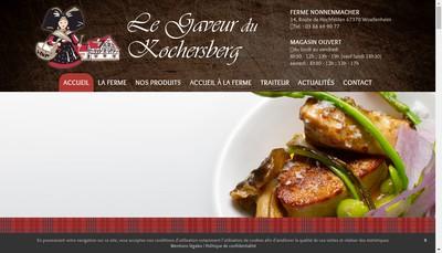 Site internet de Le Gaveur du Kochersberg