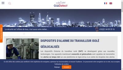 Site internet de Gazdetect