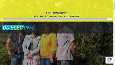 Site internet de Gc l'Elec Info