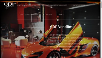 Site internet de Gdp Vendome Immobilier
