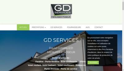 Site internet de Gd Services