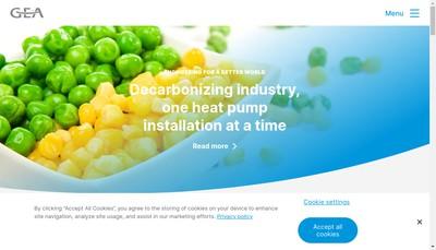 Site internet de Gea Farm Technologies France